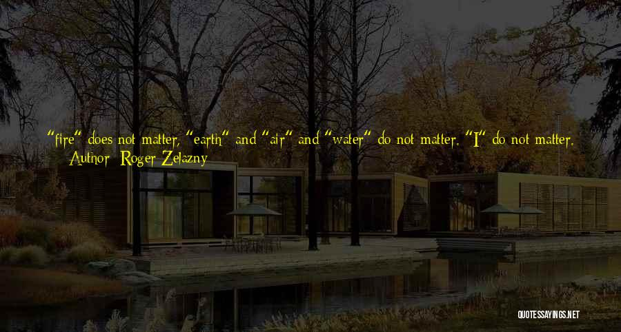 Looks Does Matter Quotes By Roger Zelazny