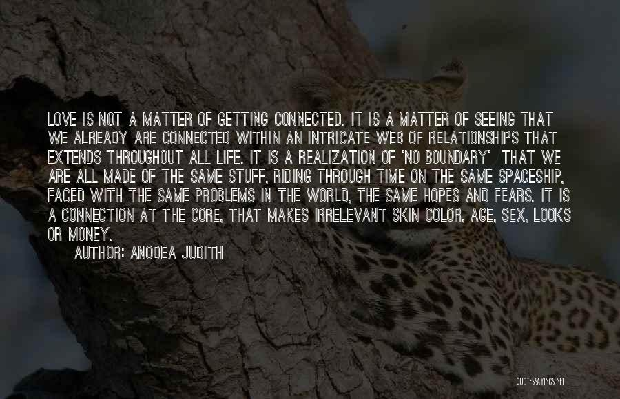 Looks Matter Quotes By Anodea Judith