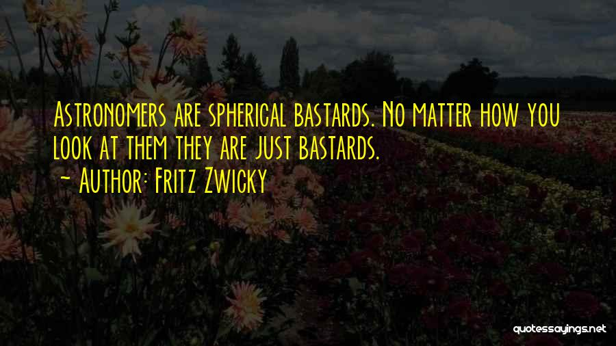 Looks Matter Quotes By Fritz Zwicky