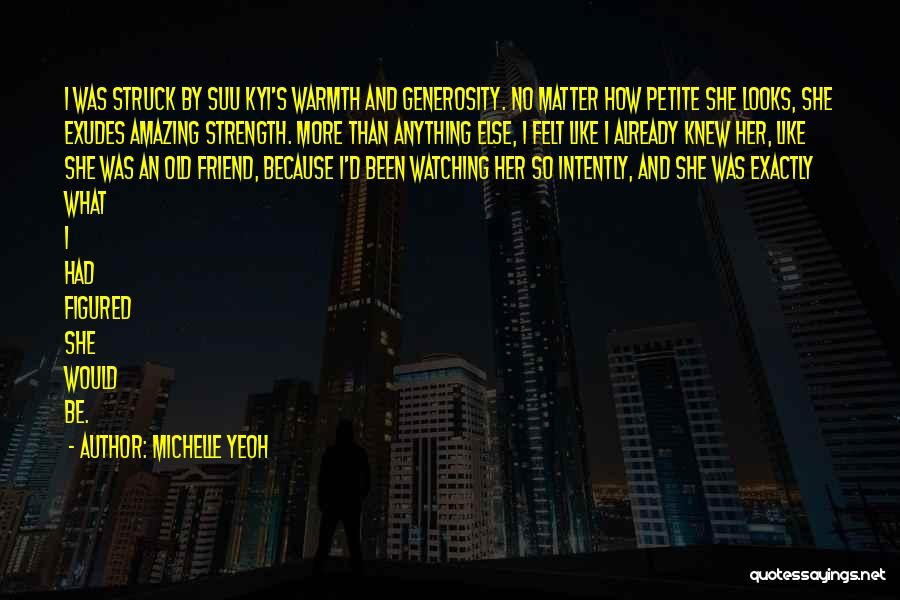 Looks Matter Quotes By Michelle Yeoh