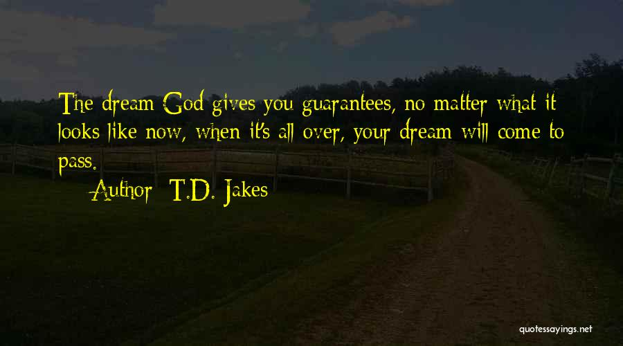 Looks Matter Quotes By T.D. Jakes