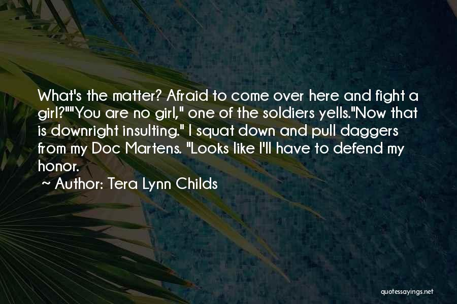 Looks Matter Quotes By Tera Lynn Childs