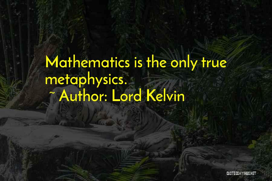 Lord Kelvin Quotes 1492369