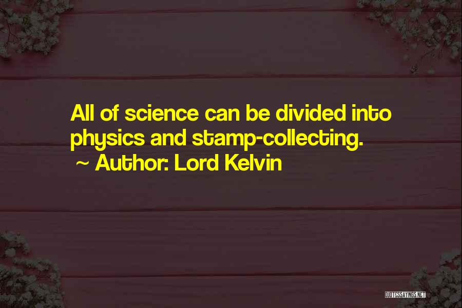 Lord Kelvin Quotes 178439