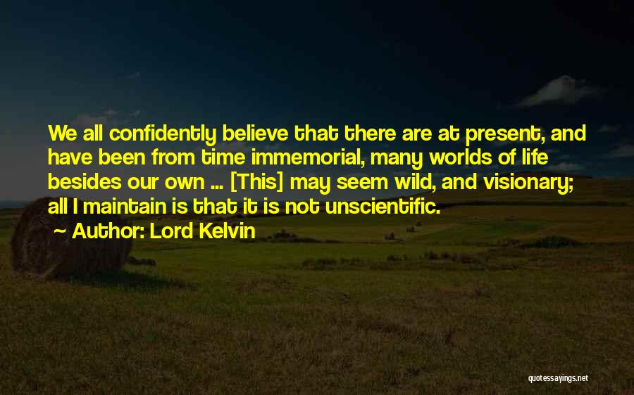 Lord Kelvin Quotes 1805833