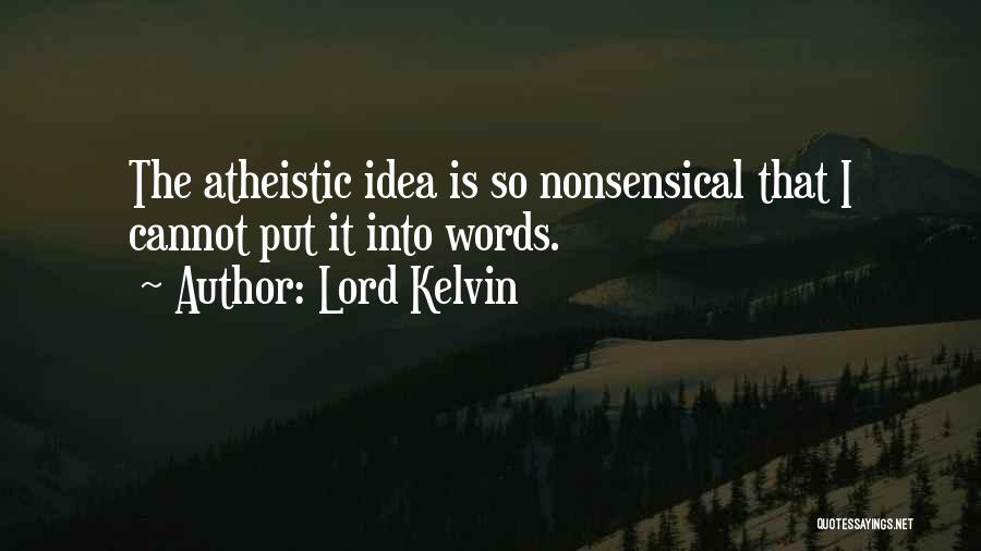 Lord Kelvin Quotes 198932
