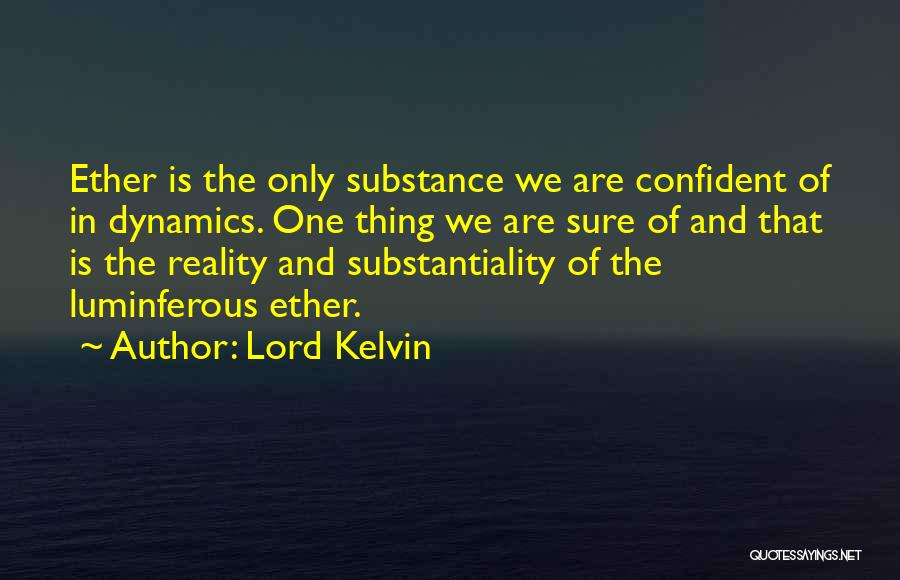 Lord Kelvin Quotes 246061