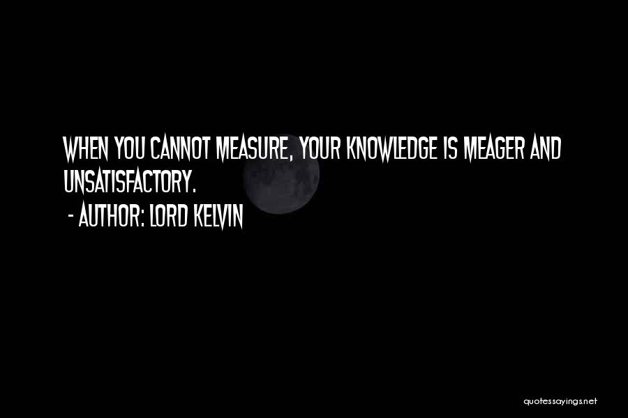 Lord Kelvin Quotes 359456