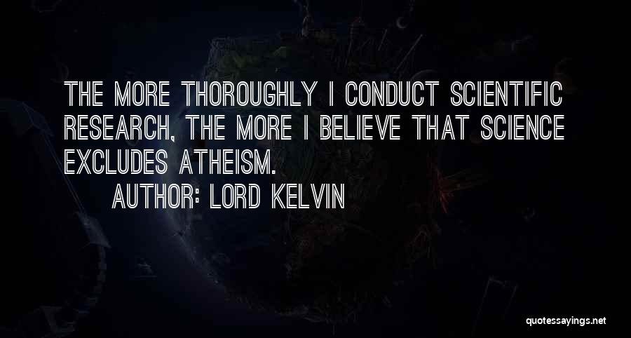 Lord Kelvin Quotes 428762