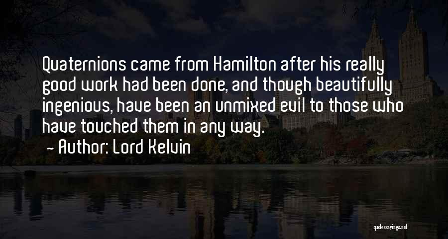 Lord Kelvin Quotes 649952