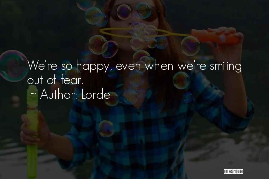 Lorde Quotes 1346094