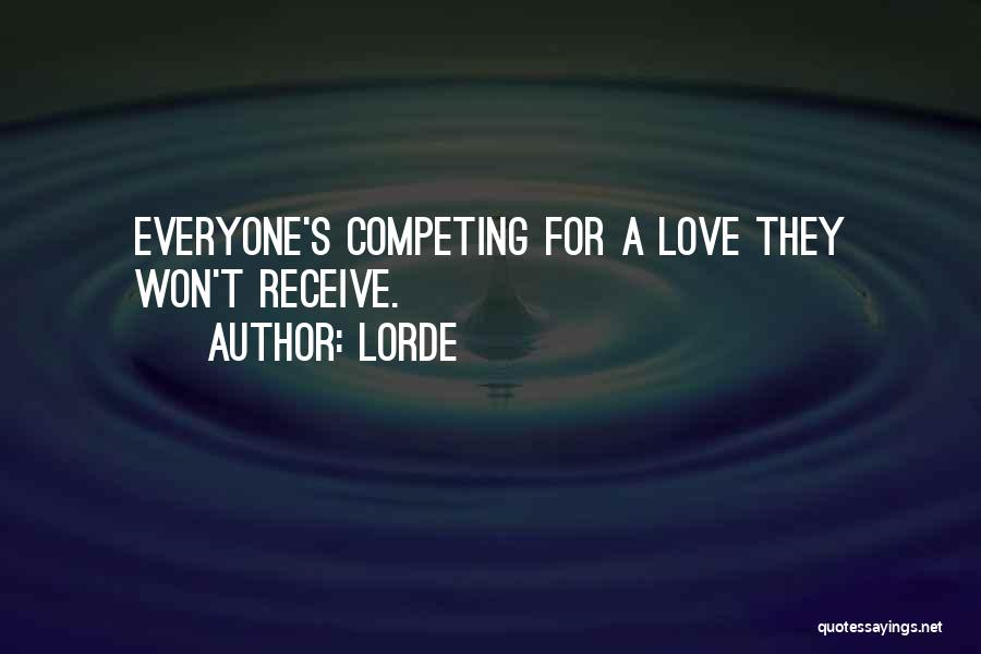 Lorde Quotes 200356