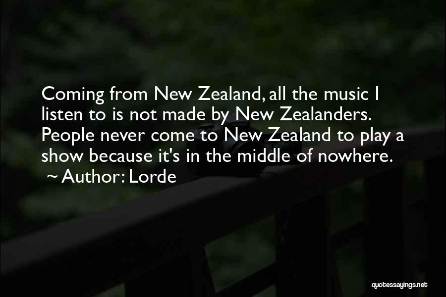 Lorde Quotes 423950