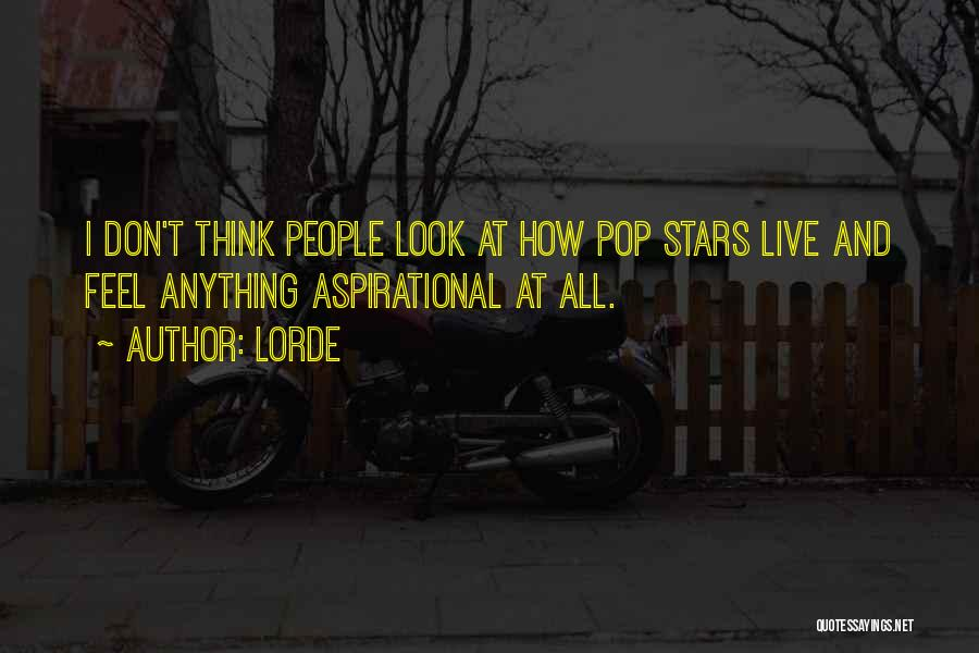 Lorde Quotes 646205