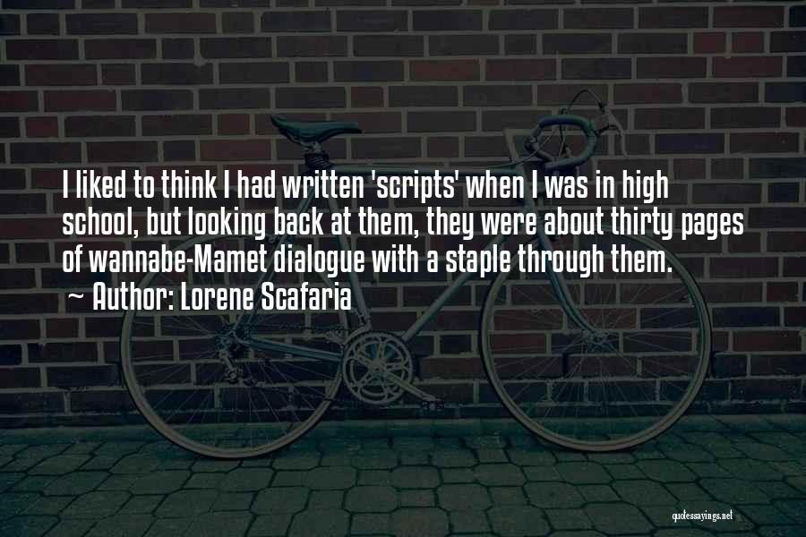 Lorene Scafaria Quotes 1615963