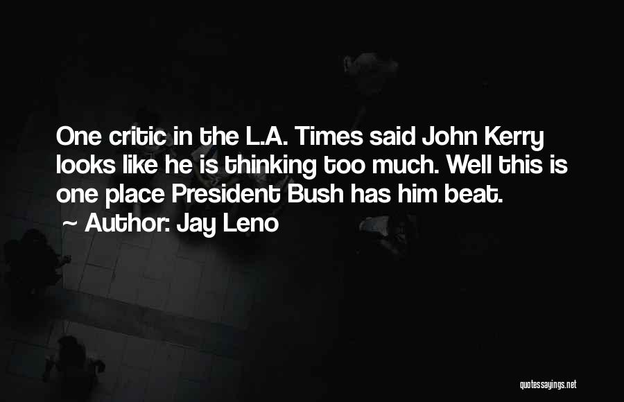 L'orfeo Quotes By Jay Leno