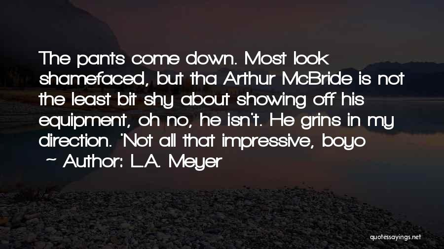 L'orfeo Quotes By L.A. Meyer