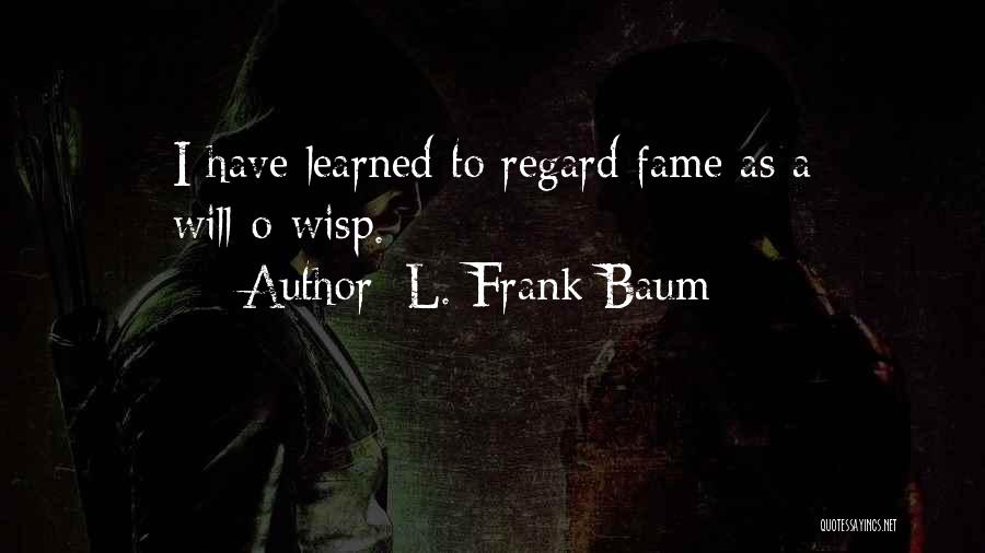 L'orfeo Quotes By L. Frank Baum