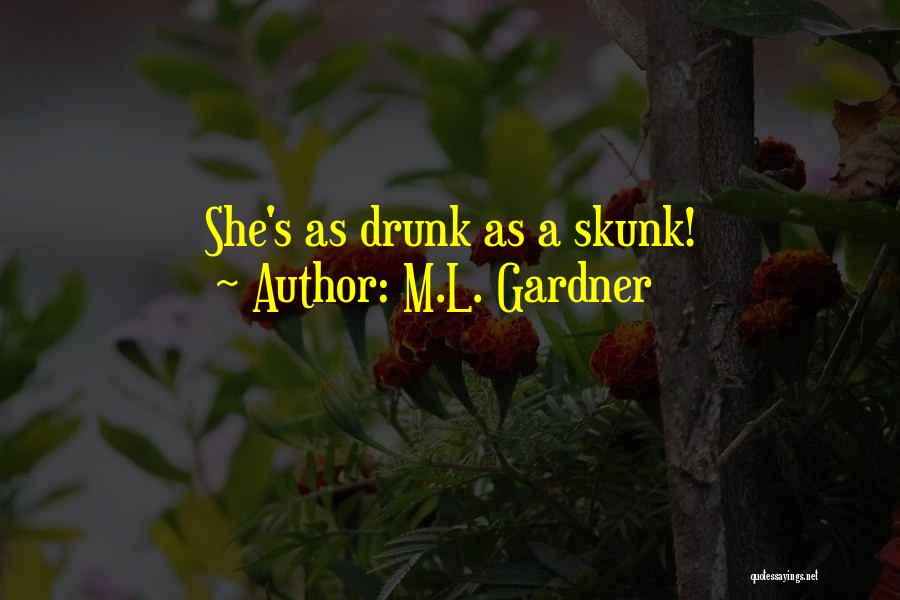 L'orfeo Quotes By M.L. Gardner