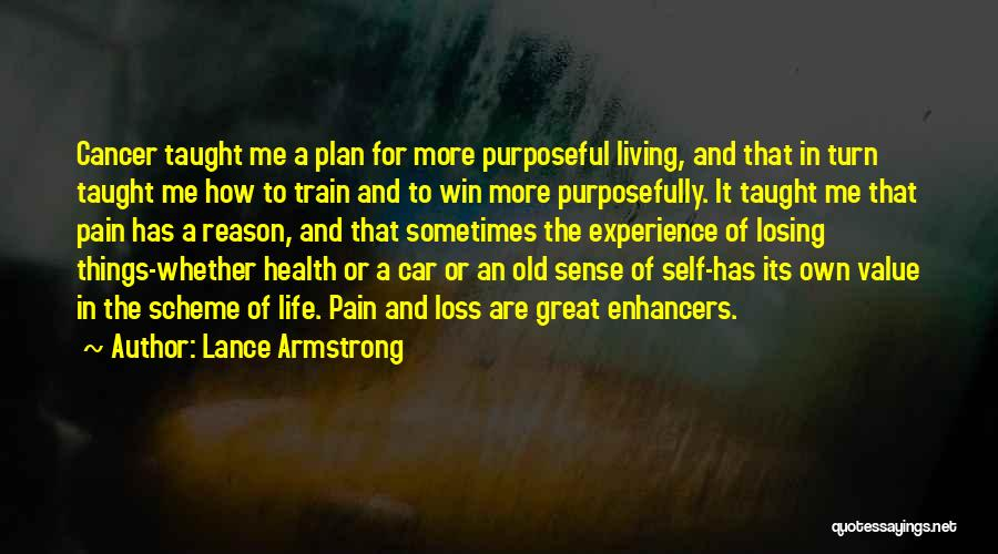 Losing Someone To Cancer Quotes By Lance Armstrong