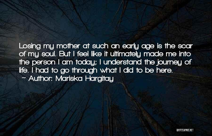 Losing The Best Thing Quotes By Mariska Hargitay