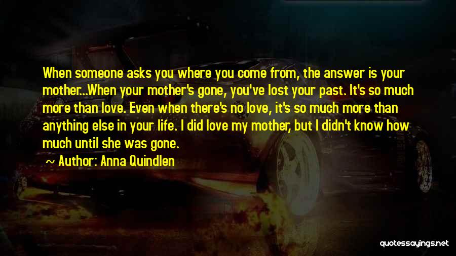 Losing The One You Love To Someone Else Quotes By Anna Quindlen