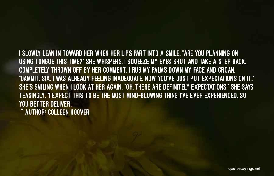 Losing You Again Quotes By Colleen Hoover
