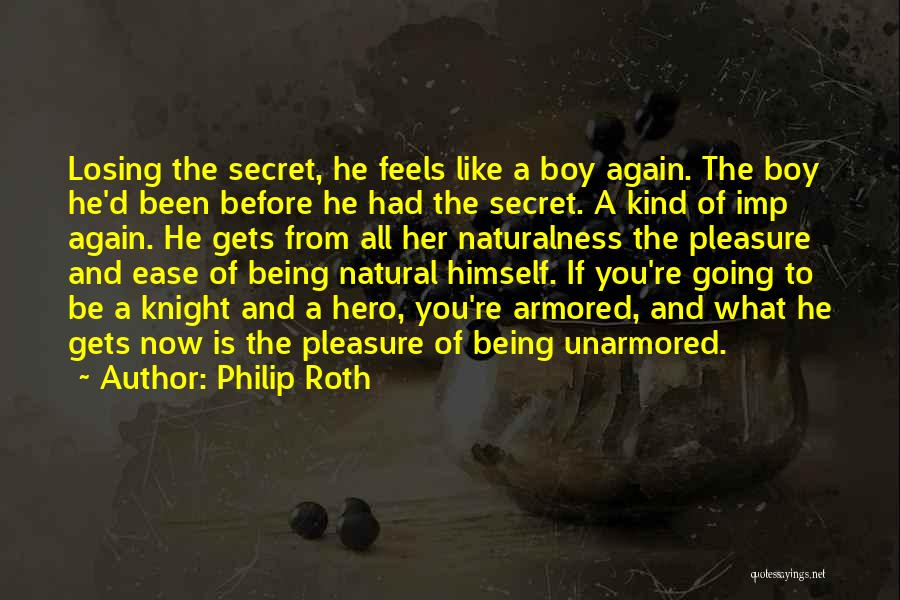 Losing You Again Quotes By Philip Roth