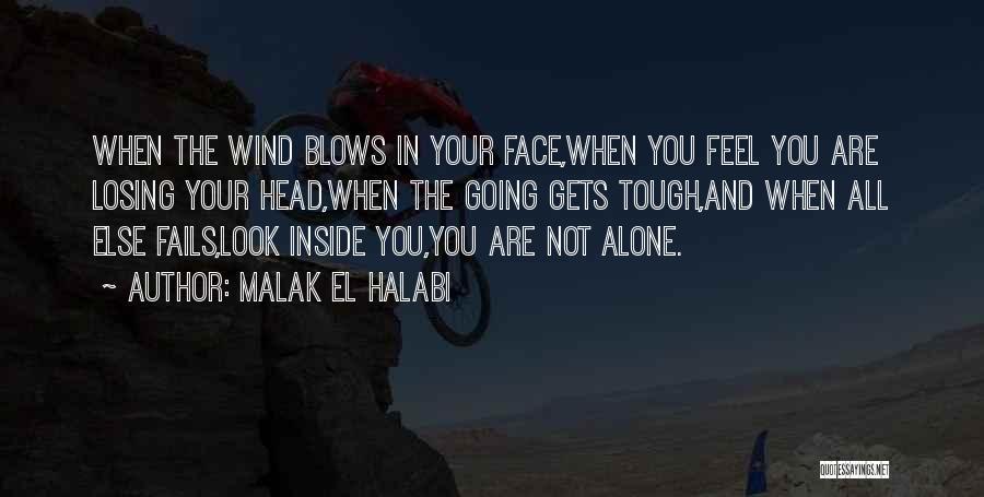 Losing Your Head Quotes By Malak El Halabi