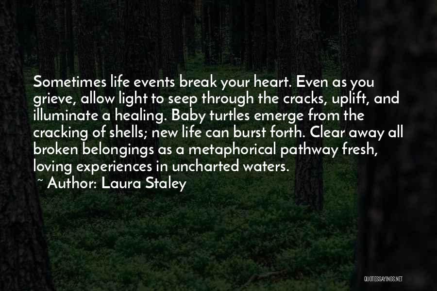 Loss And Healing Quotes By Laura Staley