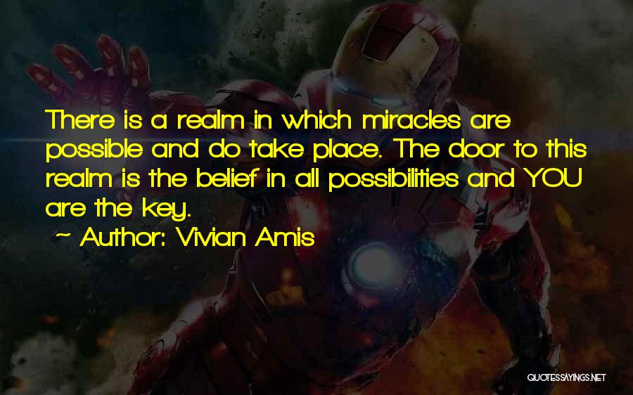 Loss And Healing Quotes By Vivian Amis