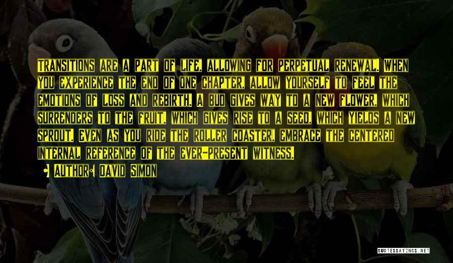 Loss And Renewal Quotes By David Simon