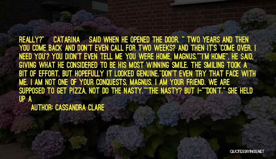 Loss Friend Quotes By Cassandra Clare