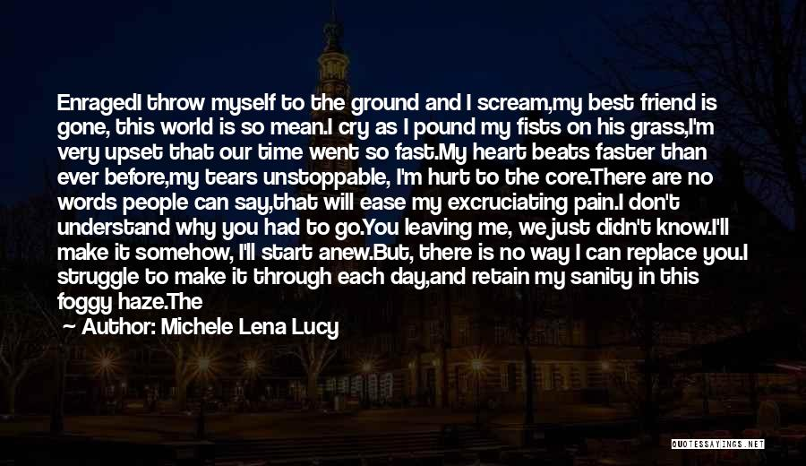 Loss Friend Quotes By Michele Lena Lucy