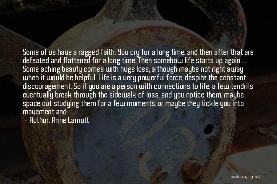 Loss Of Faith Quotes By Anne Lamott