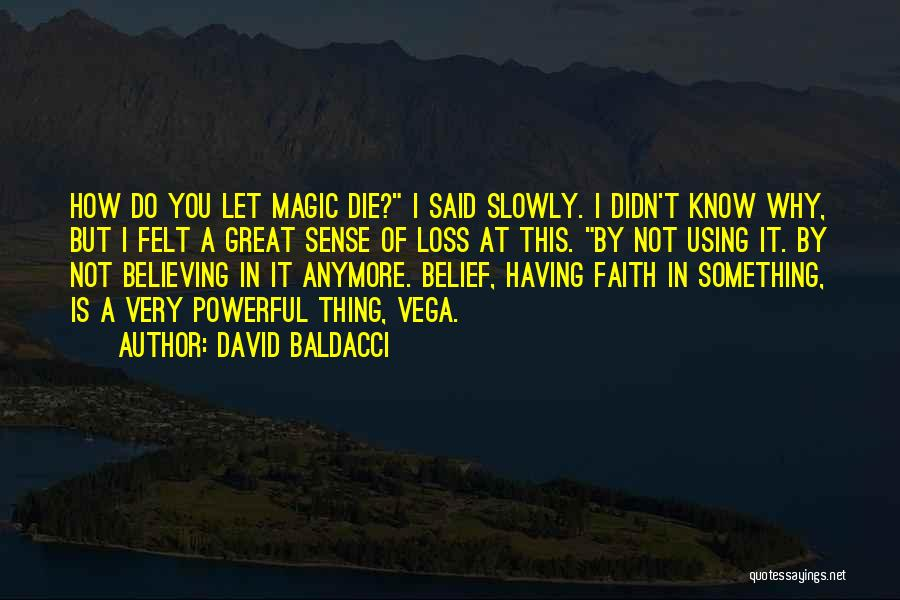 Loss Of Faith Quotes By David Baldacci