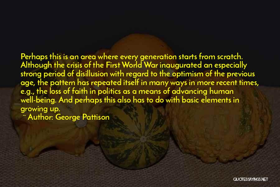 Loss Of Faith Quotes By George Pattison