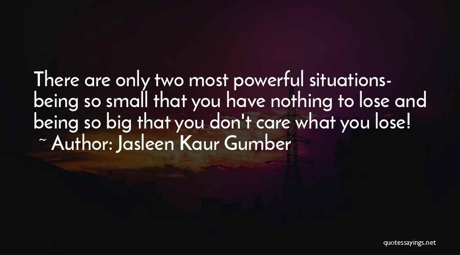 Loss Of Faith Quotes By Jasleen Kaur Gumber