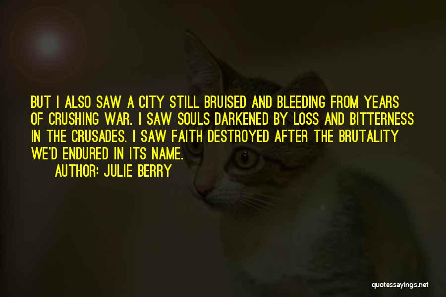 Loss Of Faith Quotes By Julie Berry