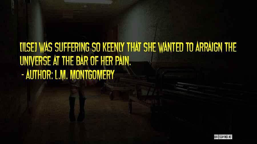 Loss Of Faith Quotes By L.M. Montgomery