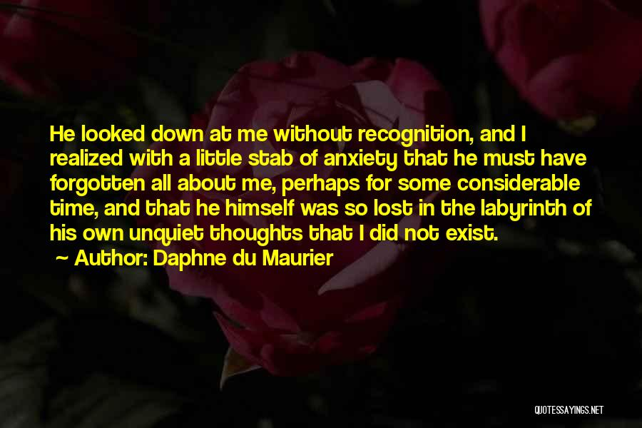 Lost And Lonely Quotes By Daphne Du Maurier