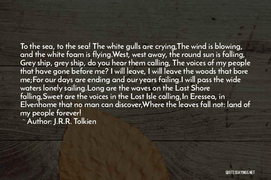 Lost And Lonely Quotes By J.R.R. Tolkien