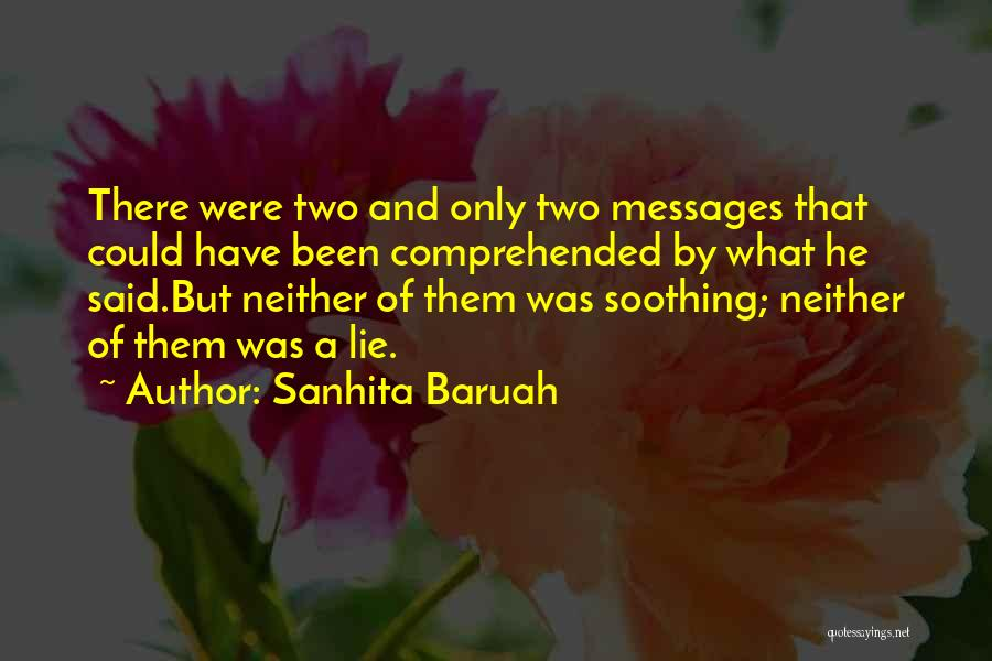 Lost And Lonely Quotes By Sanhita Baruah