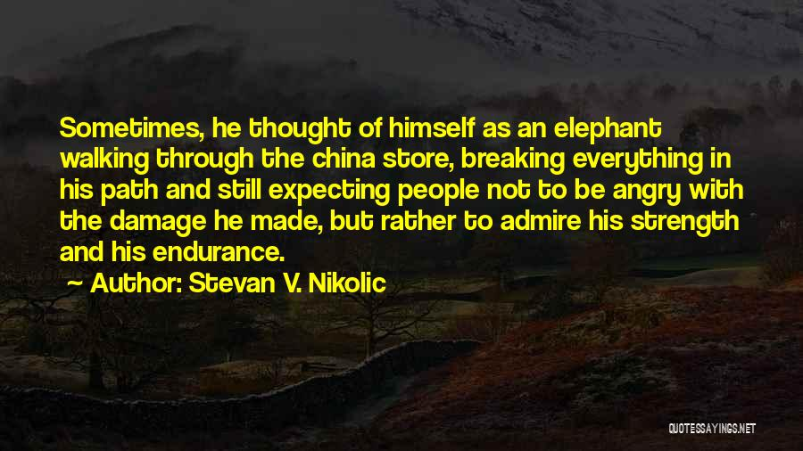 Lost Everything In Love Quotes By Stevan V. Nikolic