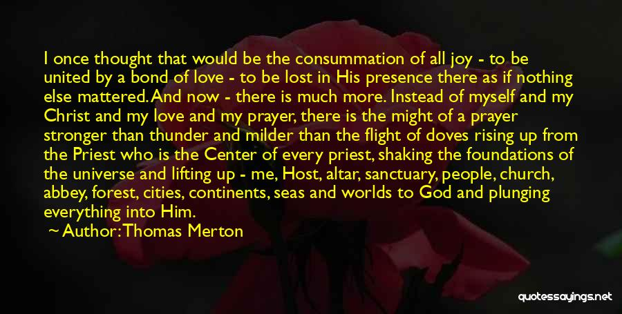 Lost Everything In Love Quotes By Thomas Merton