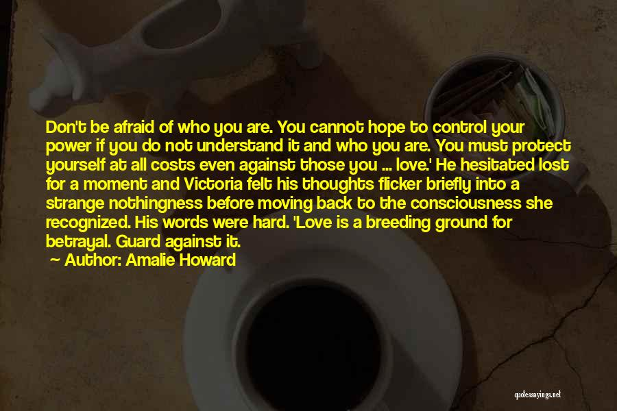 Lost Hope Quotes By Amalie Howard
