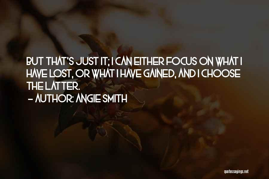Lost Hope Quotes By Angie Smith