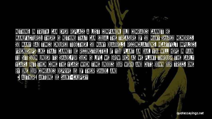 Lost Hope Quotes By Antoine De Saint-Exupery