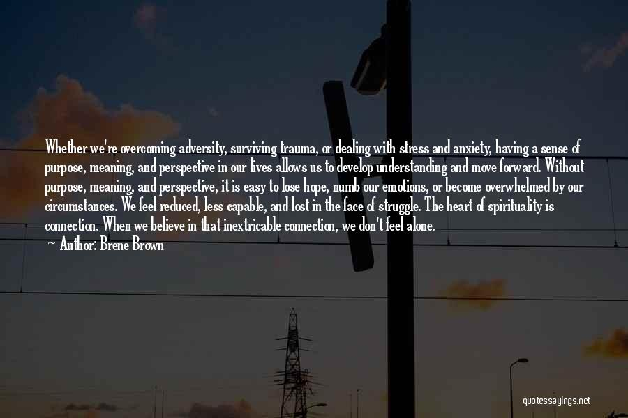 Lost Hope Quotes By Brene Brown