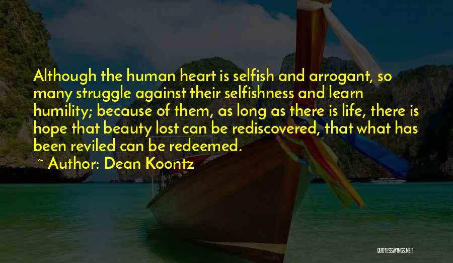 Lost Hope Quotes By Dean Koontz